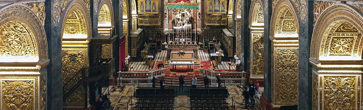 malta, valletta, katedra