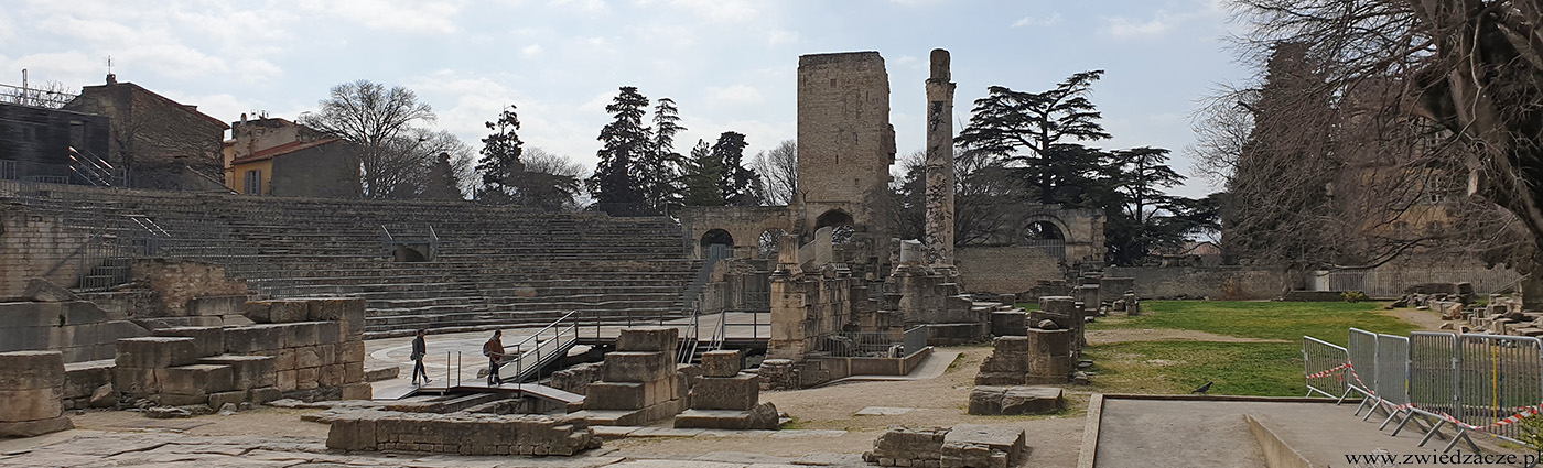 Arles teatr rzymski