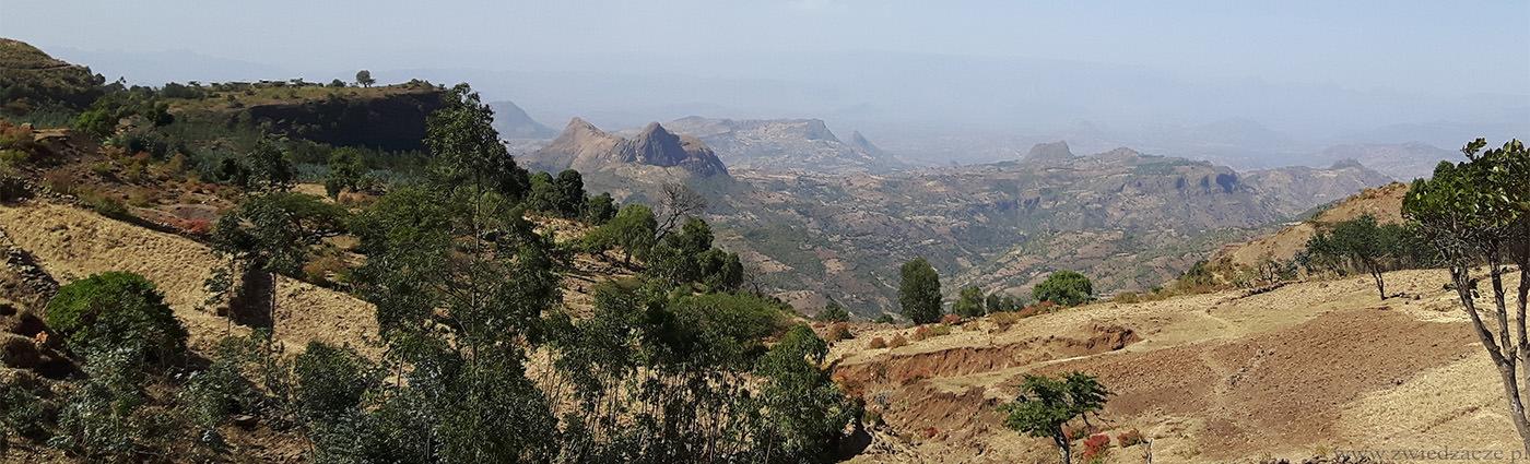 etiopia, okolice gonder