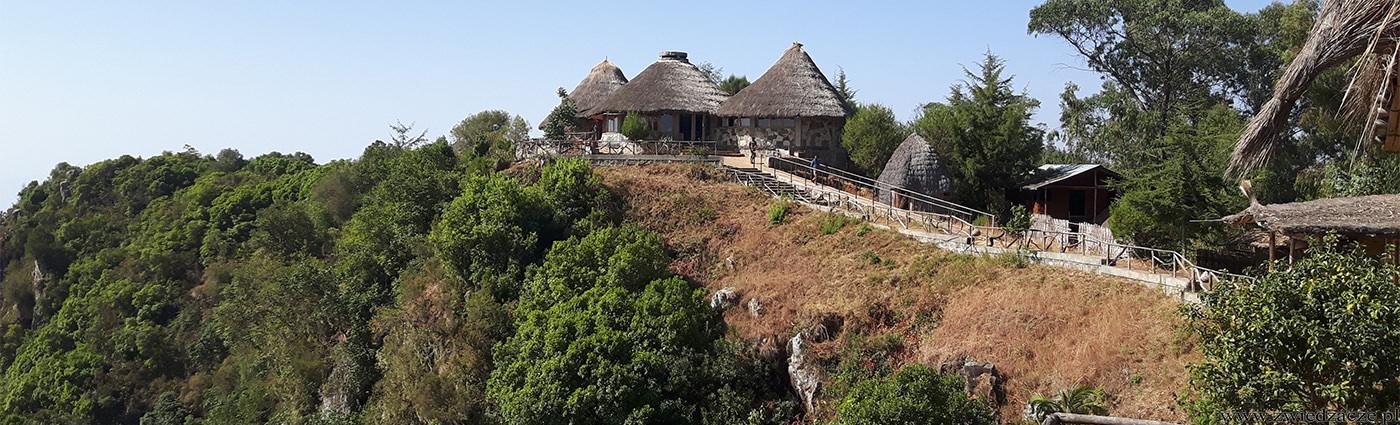 etiopia, dorze lodge, hotel, spanie
