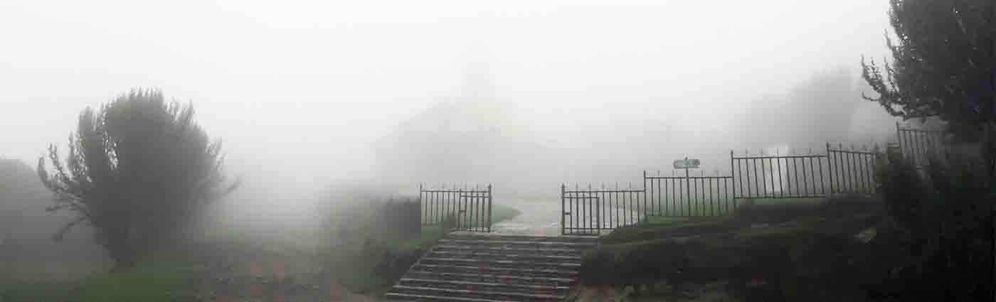quito, ekwador, mgła