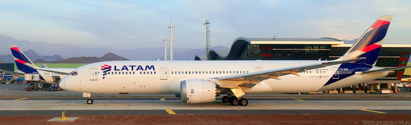 Samolot fitmy Latam